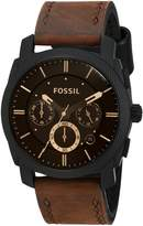 Fossil Men's FS4656 Leather Strap Analog with Dial Watch
