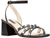 Nine West Gale Women's Leather Block Heel Sandals