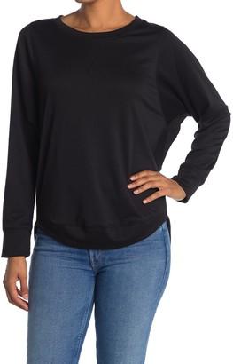 Freeloader Lightweight Long Sleeve T-Shirt With High-Low Hem
