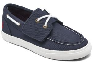 Polo Ralph Lauren Little Boys Bridgeport Ez Slip-on Casual Boat Sneakers from Finish Line