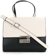 Love Moschino foldover shoulder bag - women - Polyurethane - One Size