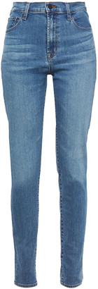J Brand Carolina Faded High-rise Skinny Jeans