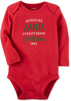 Carter's Whatever Santa Doesn't Bring Grandma Will Cotton Bodysuit, Baby Boys and Girls (0-24 months)
