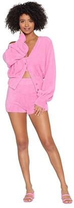 L-Space Daydreamin' Cardigan (Bubblegum Pink) Women's Clothing