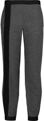 Amanda Wakeley Klara Brushed-twill Tapered Pants
