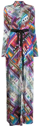 A.F.Vandevorst Digital-Print Maxi Dress
