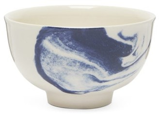 1882 X Faye Toogood - Indigo Storm Earthenware Cup - Blue White