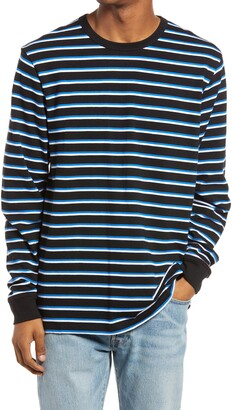 Vans Awbrey II Stripe Long Sleeve Men's T-Shirt