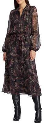 Lauren Ralph Lauren Petite Floral Belted Dress
