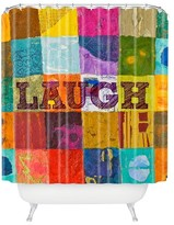 DENY Designs Laugh Shower Curtain