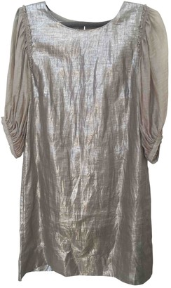 By Malene Birger Silver Linen Dresses