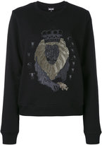 Just Cavalli lion sweatshirt - women - Cotton/Polyester - 38