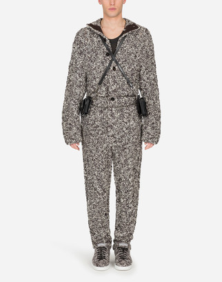 Dolce & Gabbana Virgin Wool Jumpsuit
