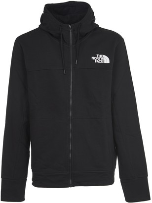 The North Face Black Hoody With Zip