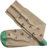 Johnston & Murphy Palm Trees Socks