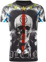 Philipp Plein skull print T-shirt - men - Cotton - S