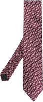 Lanvin satin patterned tie