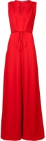 ADAM by Adam Lippes V-Neck Wide-Leg Jumpsuit
