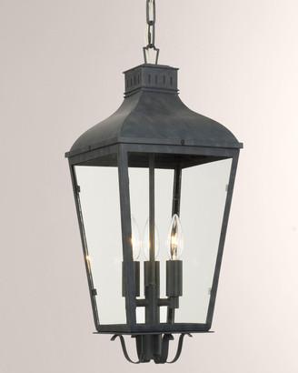 Crystorama Dunmont Outdoor 3-Light Chandelier