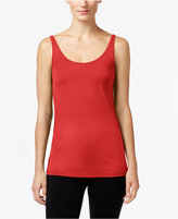 Eileen Fisher Stretch Silk Jersey Shell