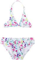 Oscar De La Renta Kids - floral print bikini - kids - Polyamide/Spandex/Elastane - 3 yrs