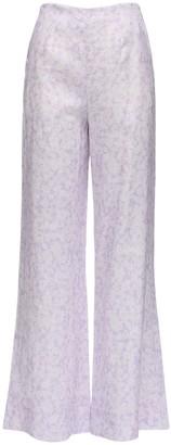 Peony Swimwear Lavender Vacation Pants