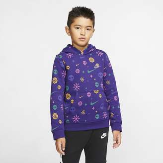 Nike Big Kids' (Boys') Pullover Hoodie Sportswear Club
