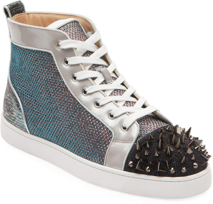 quality design 74b90 eb74a Men's Lou Pik Pik Oralto Spiked High-Top Sneakers