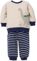 Little Me 2-Pc. Dinosaur Sweatshirt and Pants Set, Baby Boys (0-24 months)