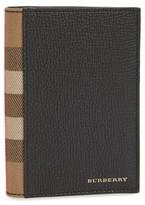 Burberry Men's Kirtley Passport Case - Black