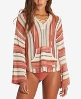Billabong Juniors' Baja Beach Cotton Striped Hoodie