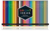 Chronicle Books Bright Ideas Deluxe Colored Pencil Set