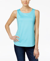 Charter Club Sleeveless Shell, Only at Macy's