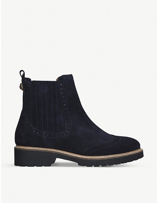 Kurt Geiger Reina brogue leather Chelsea boots, Size: EUR 35 / 2 UK WOMEN