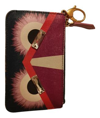 Fendi Purple Leather Purses, wallets & cases