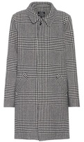 A.P.C. Soho houndstooth wool-blend coat