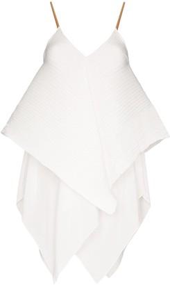 Loewe Pleated Handkerchief Hem Top
