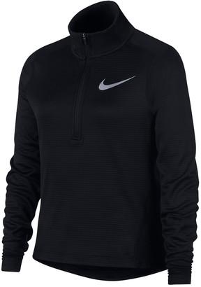 Nike Dri-FIT Long Sleeve 1/2 Zip Running Top (Big Girls)