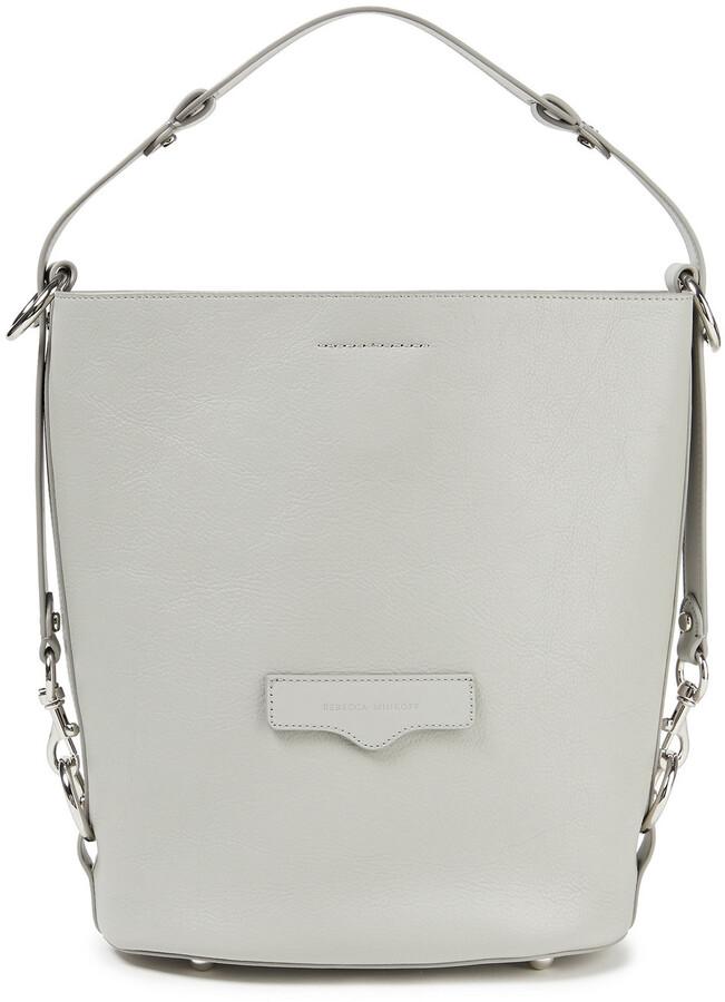 Rebecca Minkoff Pebbled-leather Bucket Bag