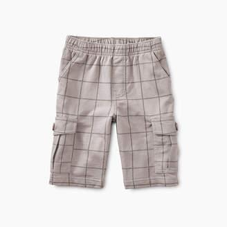Tea Collection Windowpane Cargo Shorts