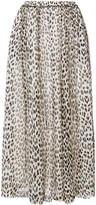 Forte Forte animal print skirt