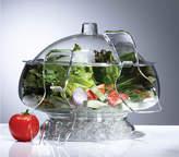 Prodyne Acrylic Salad Bowl On-Ice With Dome Lid