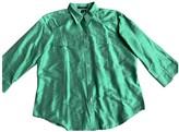Lauren Ralph Lauren Green Silk Top for Women