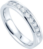 JCPenney FINE JEWELRY 1/2 CT. T.W. Channel-Set Diamond Band