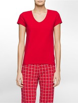 Calvin Klein Shift Short Sleeve Top