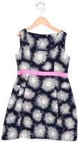 Milly Minis Girls' Printed Sleeveless Dress