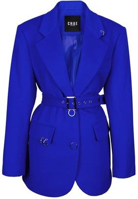 Chaenewyork Back To Classic Tailored Jacket Cobalt Blue
