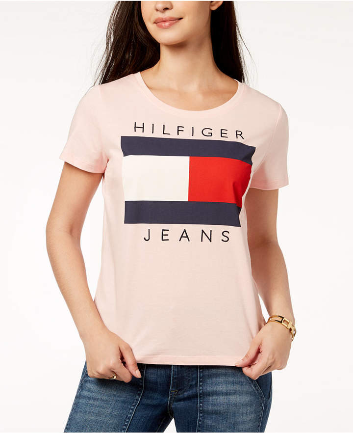 b5d35ee5 Tommy Hilfiger Women's Tees And Tshirts - ShopStyle