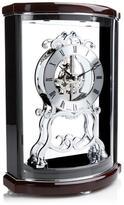 "Bulova Wentworth"" Wooden Mantle Clock with Pendulum"