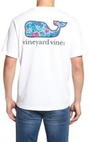 Vineyard Vines Men's Ocean Floral Whale Pocket T-Shirt